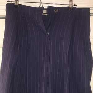 Navy pinstripe Urban Outfitters pants